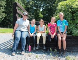 Tara Equestrian Summer Campers sized for WS